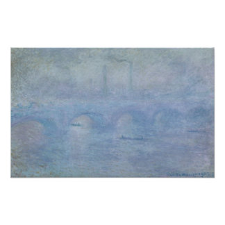 Waterloo Bridge: Effect of the Mist, 1903 Posters