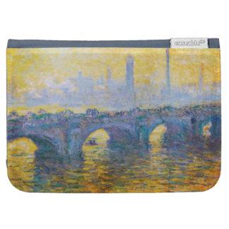 Waterloo Bridge, Gray Weather, 1900 Claude Monet Kindle Case