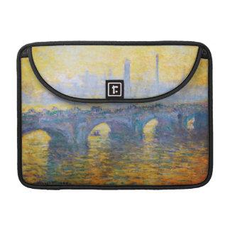 Waterloo Bridge, Gray Weather, 1900 Claude Monet Sleeve For MacBook Pro