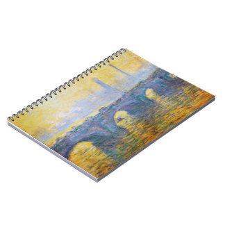 Waterloo Bridge, Gray Weather, 1900 Claude Monet Journals