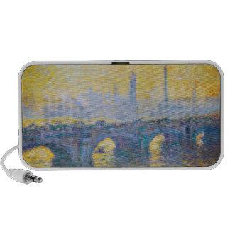Waterloo Bridge, Gray Weather, 1900 Claude Monet Travelling Speaker