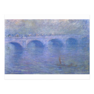 Waterloo Bridge in the Fog by Claude Monet Postcard