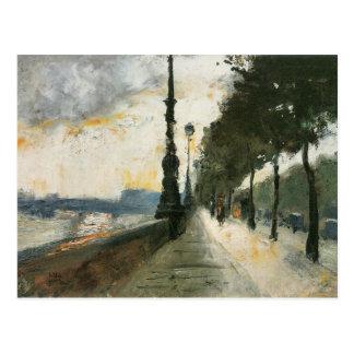 Waterloo Bridge in the Sun by Lesser Ury Postcard