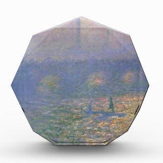 Waterloo Bridge, London by Claude Monet Acrylic Award