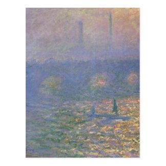 Waterloo Bridge, London by Claude Monet Postcard