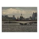 Waterloo Bridge, London Card