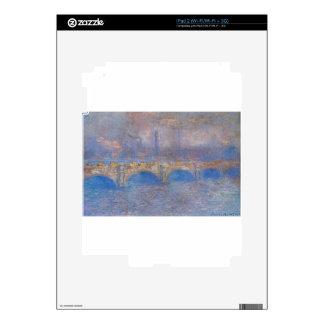 Waterloo Bridge, Sunlight Effect by Claude Monet Decals For The iPad 2