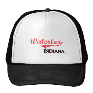 Waterloo Indiana City Classic Hat