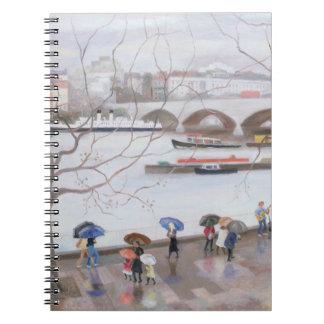 Waterloo Promenade 2006 Spiral Notebook