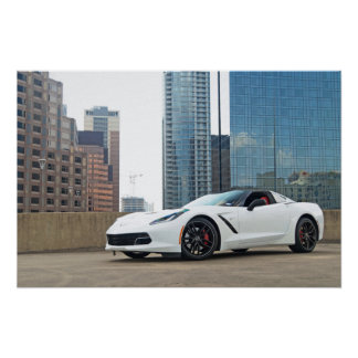 Watermark-free poster - Chevy Corvette Stingray