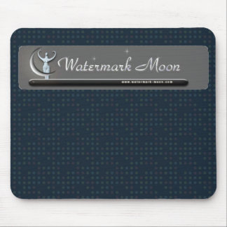 Watermark Moon Mouse Pad
