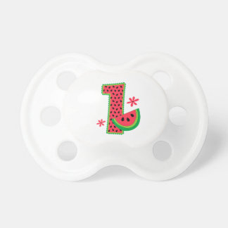 Watermelon 1st Birthday Pacifier