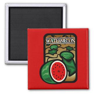 Watermelon 2 Inch Square Magnet