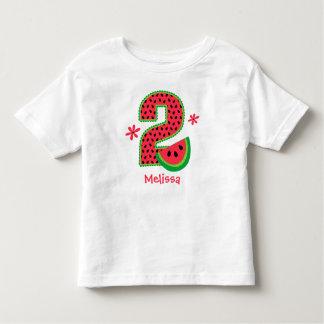 Watermelon 2nd Birthday Toddler T-shirt