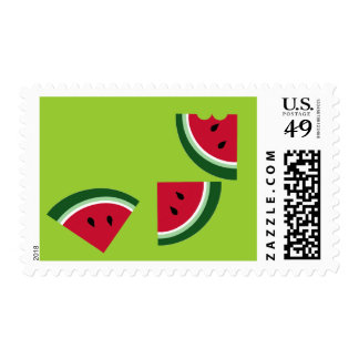 watermelon 3 slices postage
