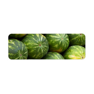 Watermelon at the Market Label