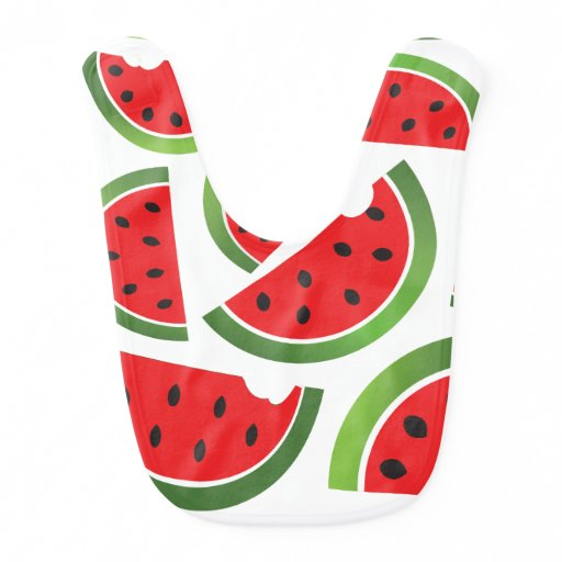 Watermelon Baby Bib
