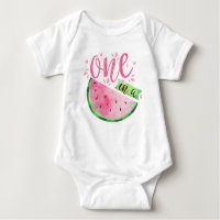 Watermelon Baby Bodysuit - One in a Melon