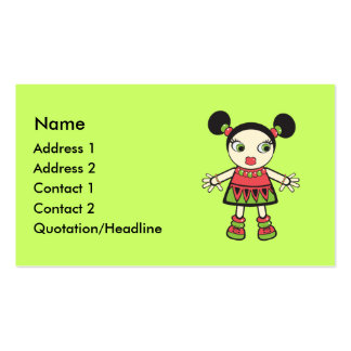 Watermelon baby business cards