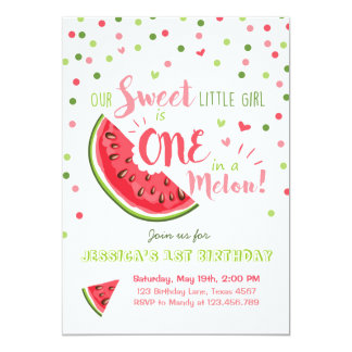 Image Result For Watermelon First Birthday Party