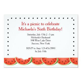 Watermelon Bite Invitation