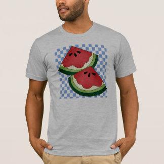 Watermelon Blue White T-Shirt