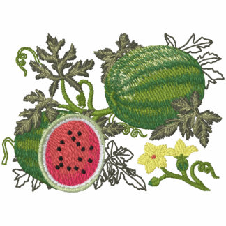 Watermelon Botanical Fruit and Floral