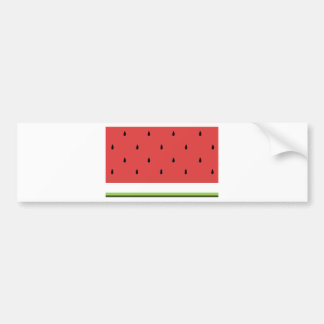 Watermelon Bumper Sticker