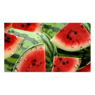 Watermelon Business card Indestructible Paper
