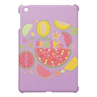 Watermelon Cantaloupe Fruit Sweet Health Fresh Case For The iPad Mini