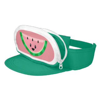 Watermelon Cap-Sac Visor