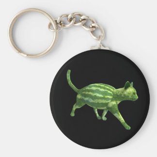 Watermelon Cat Keychain