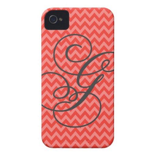 Watermelon Chevron Poem G iPhone 4 Case-Mate Cases