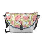Watermelon Circles Messenger Bag