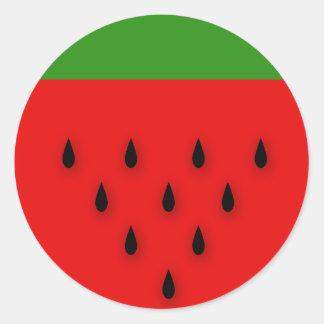 Watermelon! Classic Round Sticker