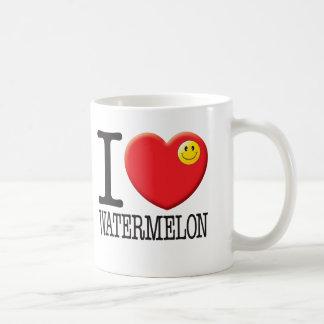 Watermelon Classic White Coffee Mug