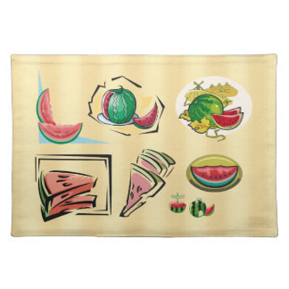 Watermelon Cloth Placemat