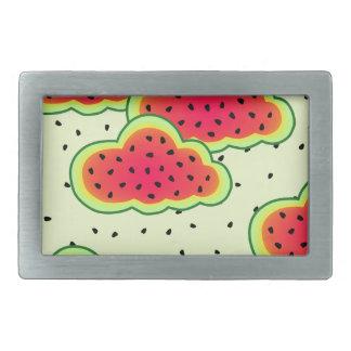 Watermelon Clouds Design Belt Buckle