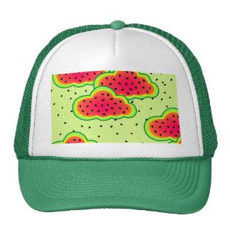Watermelon Clouds Design Trucker Hat