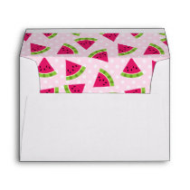 Watermelon color envelope