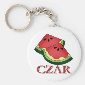 Watermelon Czar Keychain