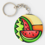 Watermelon Day August 3 Keychains