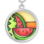 Watermelon Day August 3 Personalized Necklace