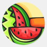 Watermelon Day August 3 Sticker