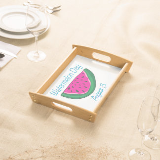 Watermelon Day Serving Tray