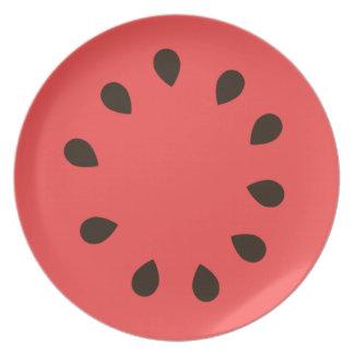 Watermelon Dinner Plate