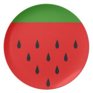 Watermelon Dinner Plates