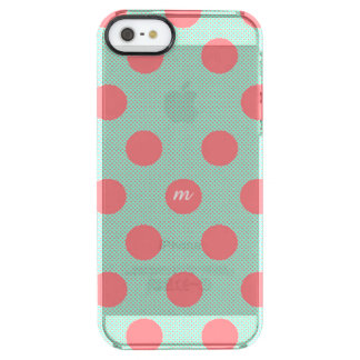 Watermelon Dots Clear iPhone SE/5/5s Case