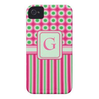 Watermelon Dots & Stripes Case-Mate iPhone 4 Case