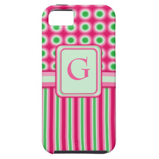 Watermelon Dots & Stripes iPhone SE/5/5s Case